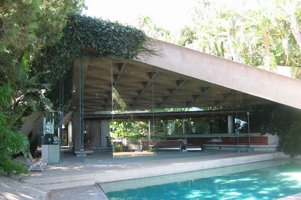 James Goldstein's John Lautner-designed home.